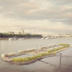 Studio Octopi's Thames Bath concept<br /> evolves into floating freshwater pools
