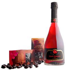 Rosa Regale - dessert bubbly!