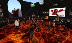 Come dance in The Devil's Playpen to the latest hard rock, industrial, techno and alternative music.