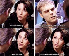 Daniel and Vala #stargate I will always love how she is sitting in his lap at the beginning of this scene. :)