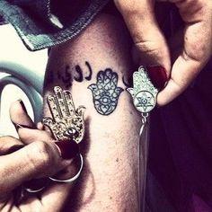 Image result for hamsa hand tattoo