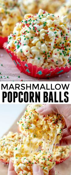 When it comes to easy and kid-friendly treats these Marshmallow Popcorn Balls are one of our all time favorites with only 5 ingredients needed! via snacks, Marshmallow Popcorn Balls Marshmallow Popcorn, Popcorn Balls With Marshmallows Recipe, Easy Popcorn Balls Recipe, Marshmallow Recipe For Kids, Marshmallow Desserts, Easy Snacks For Kids, Easy Cooking For Kids, Easy Recipes For Kids, Healthy Kid Snacks