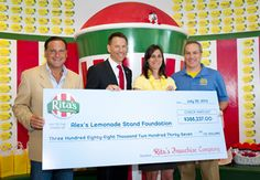Rita's has raised $3.5 million for Alex's Lemonade Stand!