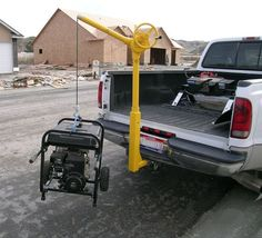 Premium Sky Hooks with Receiver Hitch Base are designed to mount inside a standard receiver hitch. Metal Projects, Welding Projects, Welding Crafts, Welding Art, Cool Tools, Diy Tools, Accessoires 4x4, Truck Bed Accessories, Truck Mods
