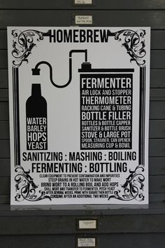 Home Brew BEER Poster  men's gift man cave  di IScreenYouScreen, $44.00