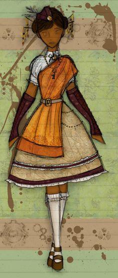 Steampunk 3: Explorer Lolita by Luai-lashire.deviantart.com on @DeviantArt