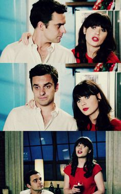 Nick and Jess New Girl Nick And Jess, Its Jess, New Girl Funny, Snl News, New Girl Quotes, Jake Johnson, Nick Miller, Chick Flicks, Book Tv