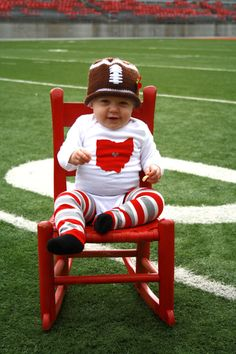 OHIO Love State of Ohio bodysuit with heart great baby by klzart, $17.50