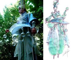 Ajnea Design - Costumes Spectacles vivants - Atelier de creation de costumes historiques et événementiels