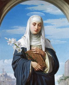 st. catherine of siena painting - Google Search