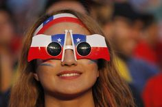 Chile soccer fan #WorldCup #Chile