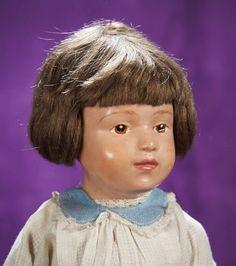 Kaleidoscope: 123 American Wooden Schoenhut Doll,Model 405,by Schoenhut