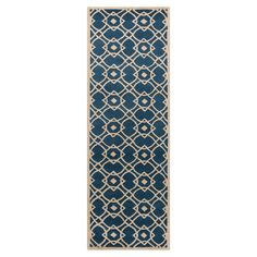 Create a beautiful focal point in your foyer, living room, or master suite with this eye-catching rug, artfully crafted for lasting style.   ...
