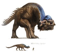 Hyaenosaur Monster from Guild Wars Nightfall