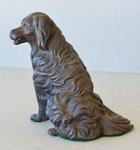 Antique Bronze Dog Mechanical Paper Clip