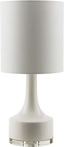 Farris Table Lamp in White design by Surya