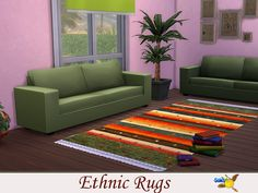 evi for the sims 4 Sims 4, Couch, Rugs, Furniture, Home Decor, Farmhouse Rugs, Settee, Decoration Home, Sofa
