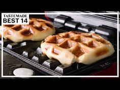 (445) こんな方法も?!驚きのワッフルメーカー活用法 BEST14 - YouTube Waffles, Breakfast, Youtube, Recipes, Food, Salad, Meal, Eten, Recipies