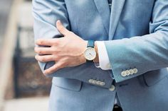 Classic British men's dress watches from Larsson & Jennings. Mens Dress Watches, Larsson & Jennings, British Men, Daniel Wellington, Unisex, Classic, Vest, Style, Fashion