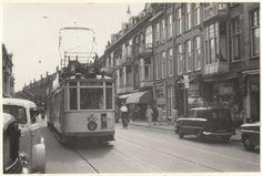 Weimarstraat richting Valkenboslaan, 1960.
