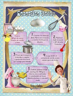 Tartas, Galletas Decoradas y Cupcakes: MERENGUE SUIZO