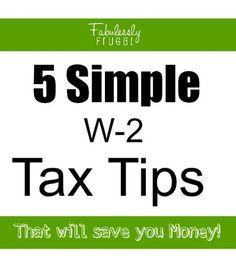 Useful Tax Tips