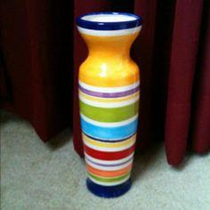 Vase painted by Jennifer Beamer! <3