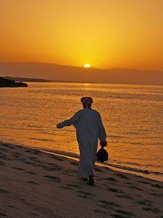 Oman | Sunset at Ras Al Hadd. view on Fb https://www.facebook.com/OmanPocketGuide  credit: Ras Alhadd Faesal