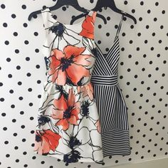 This floral pattern is a cute style. I don't like the blue dress style. But I don't mind strips.