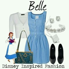Here is Belle Outfit Gallery for you. Belle Outfit modern belle on the town outfit shoplook. Belle Outfit disney belle princess dress co. Robes Disney, Disney Dresses, Disney Clothes, Disney Princess Outfits, Disney Themed Outfits, Casual Cosplay, Cosplay Outfits, Dapper Day Outfits, Cute Outfits