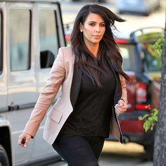 Kim Kardashian pregnancy scare?!