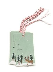 Rifle Paper Co. Rudolph Gift Tags available now at Northlight Homestore