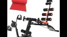 ลดราคา B&G เครื่องออกกำลังกาย Six Pack Care NEW พร้อมที่ปั่นจักรยาน (สีด...
