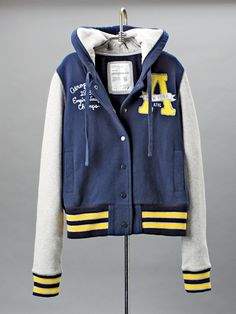 Aeropostale Varsity jacket: Fall Fashion Guide: Feature: teenvogue.com