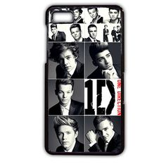 Personalized Top Band One Direction TATUM-8540 Blackberry Phonecase Cover For Blackberry Q10, Blackberry Z10