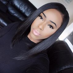 Lace front Wig Glueless Human Hair Bob Wig for Black Women Bleached Knot with Baby Hair,$120