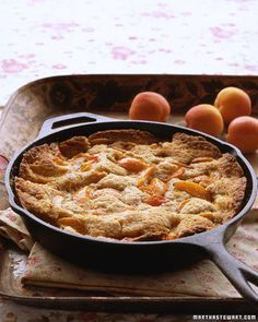 Apricot-Almond Cobbler Recipe