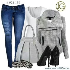 Change up the sweater style but I love it!