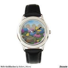 Kid's Goldfinches Wrist Watch