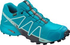 Salomon Speedcross 4 GTX Womens Trail Running Shoes - Out of Stock Tie Dying Techniques, Trail Running Shoes, Color Azul, Pin Collection, Blue Bird, Metallica, Cleats, Style Inspiration, Sneakers