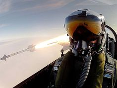 Wildest Selfie Ever? Watch Fighter Pilot Take Photo as He Launches Missile | By Alex Heigl