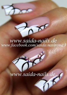 Saida Nails - media library | pictures and videos of several nail artworks by Saida Nasirova