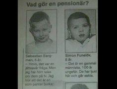Vad gör en pensionär