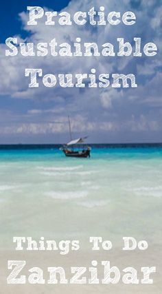 Things to do in Zanzibar Africa. Having once held a prominent and distinct position in the spice trade, the beautiful island of Zanzibar is a must-see destination for all those wishing to experience the diverse beauty and wonders of east Africa. With the rise of ecotourism, places like Zanzibar have become a hub for travelers looking to embrace local customs and culture. Click to read the full travel blog post   http://www.divergenttravelers.com/flighthub-sustainable-tourism-zanzibar/