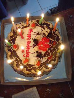 Happy Birthday 22, Birthday Blast, Happy Birthday Cake Images, Birthday Goals, Birthday Diy, Birthday Celebration, Chocolate Cupcakes Decoration, Cake Story, Bithday Cake