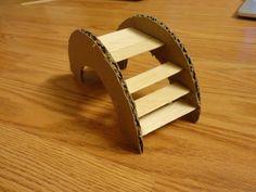 DIY Hamster Bridge: Inspired by Boredom Breaker's Rainbow Bridge. Can be modified for rats!