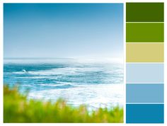 Springtime Ocean Color Combination, Palette, Design, Color Scheme