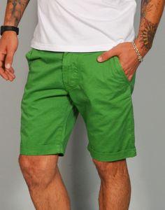 Pantalón corto chino de algodón de Chicomalo. Pantalones cortos y bermudas para hombre online en Tiendas13.com