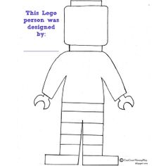 LEGO Colouring Page
