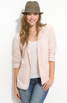 Love the pink blazer! Save extra with these Nordstrom deals: http://cpn.cd/wxd1ra